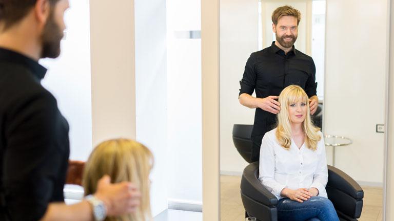 Friseur in Aschaffenburg Pentek Haare schneiden